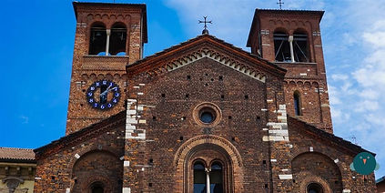 Church of the Holy Sepulcher - Excursion city tour of Milan - Liudmila guide in Milan, excursions - en.italtour.org