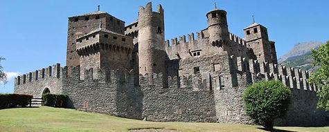 Aosta - Castello di Fenis - Людмила Гид в Аосте, экскурсии - www.italtour.org