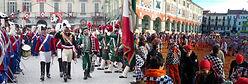 Апельсиновый Карнавал в Иврее -  Гид в Турине Людмила - www.italtour.org