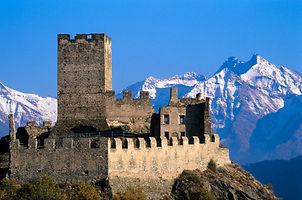 Aosta - Chateau - Людмила Гид в Аосте, экскурсии - www.italtour.org
