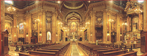Chiesa di Maria Ausiliatrice - Места христианского культа в Турине - Гид в Турине Людмила Экскурсии - www.italtour.org