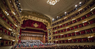 Milan La Scala - Excursion city tour of Milan - Liudmila guide in Milan, excursions - en.italtour.org