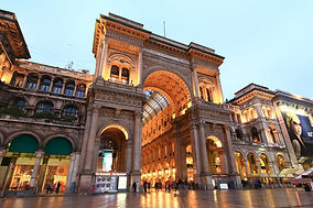 Milano - Galleria Vittorio Emanuele II - Людмила Гид в Милане, Экскурсия по Милану - www.italtour.org