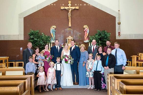 all family blake's wedding church.jpg