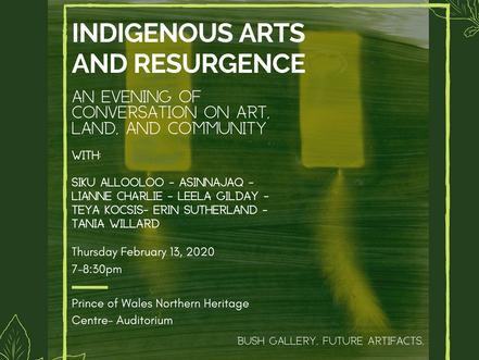 Indigenous Arts and Resurgence- Public Event