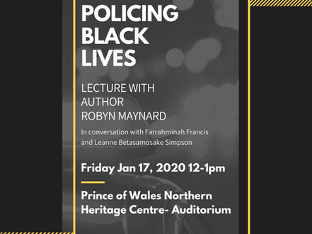 Robyn Maynard: Policing Black Lives