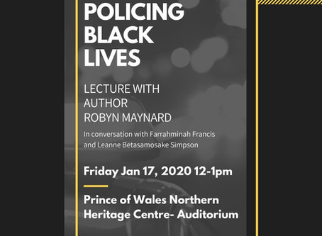 Robyn Maynard: Policing Black Lives