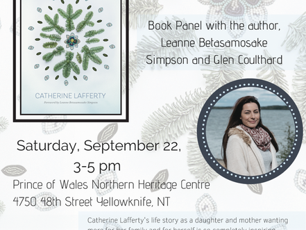 Northern Wildflower Book Launch- September 22nd 2018