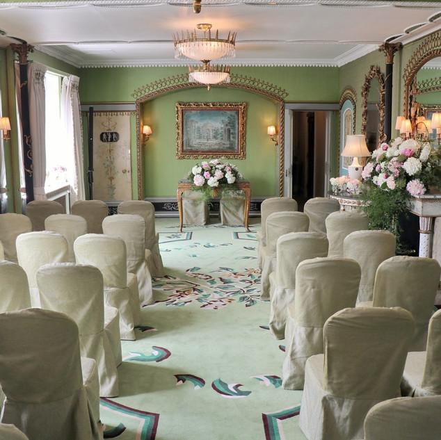 The Dorchester Penthouse wedding ceremon
