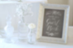 wedding guest book display
