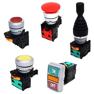 TN2 - Botón de mando plástico 22mm
