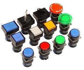P16 - Botones de mando 16mm