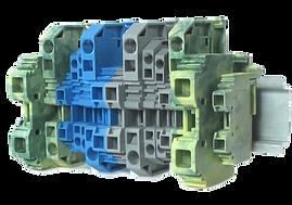 BM - Conectores de paso con sistema de conexión por resorte