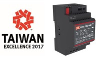 ¡MEAN WELL Power Supplies Ganó el Premio 2017 de excelencia en Taiwán!
