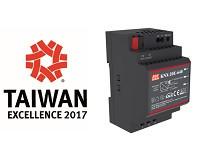 ¡MEAN WELL Power Supplies Ganó el Premio 2017 de excelencia en Taiwán!