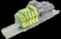 BS - Conectores de paso con sistema de conexión por tornillo