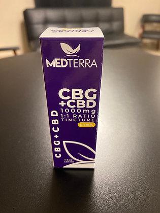 MedTerra CBD/CBG 1000mg