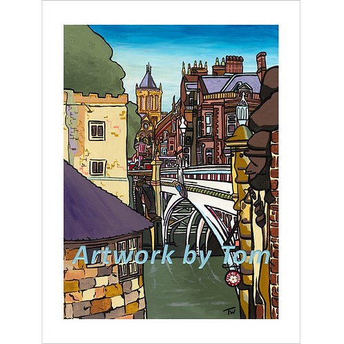 "Lendal Bridge, York   (16""x12"")"