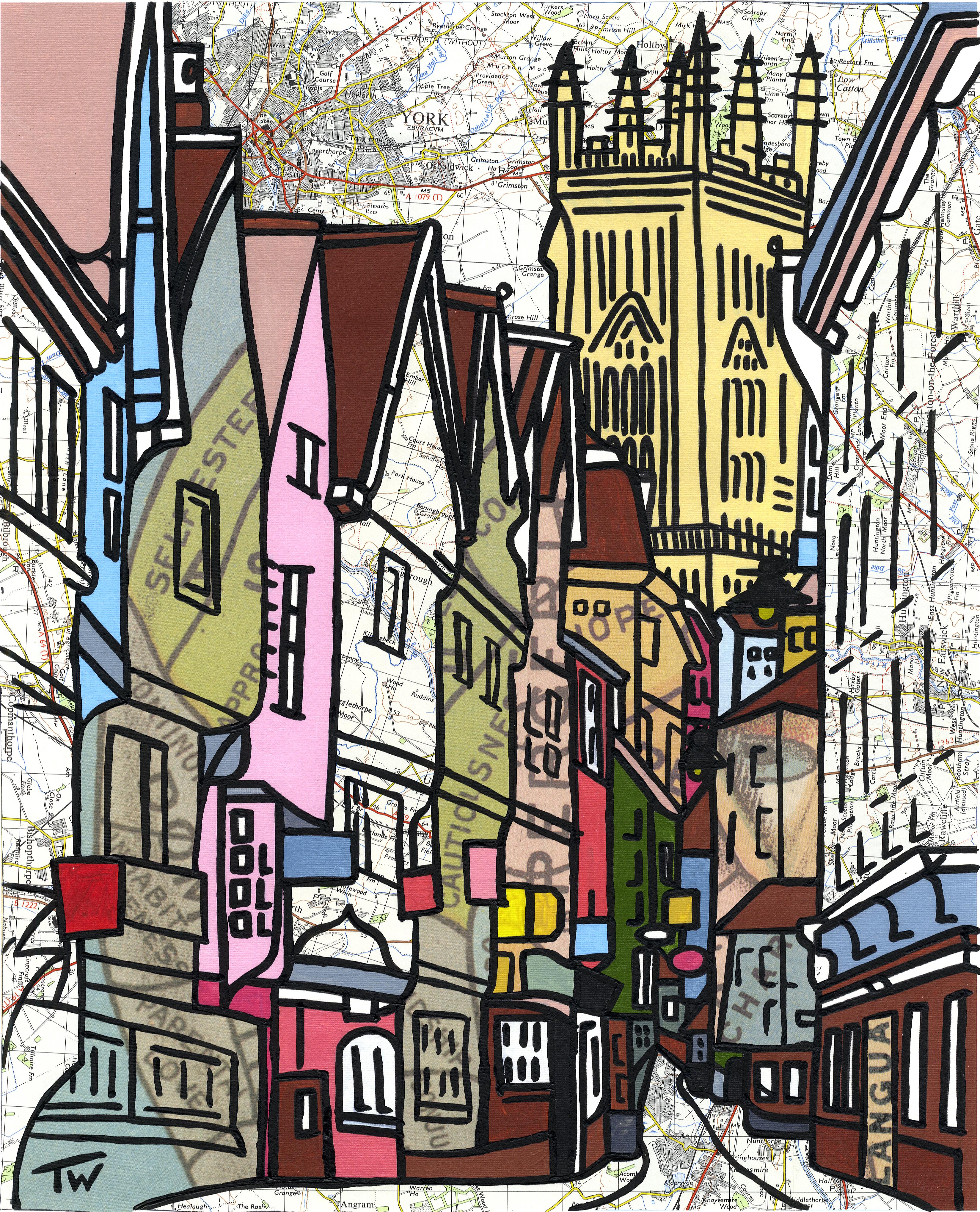 'Low Petergate, York'