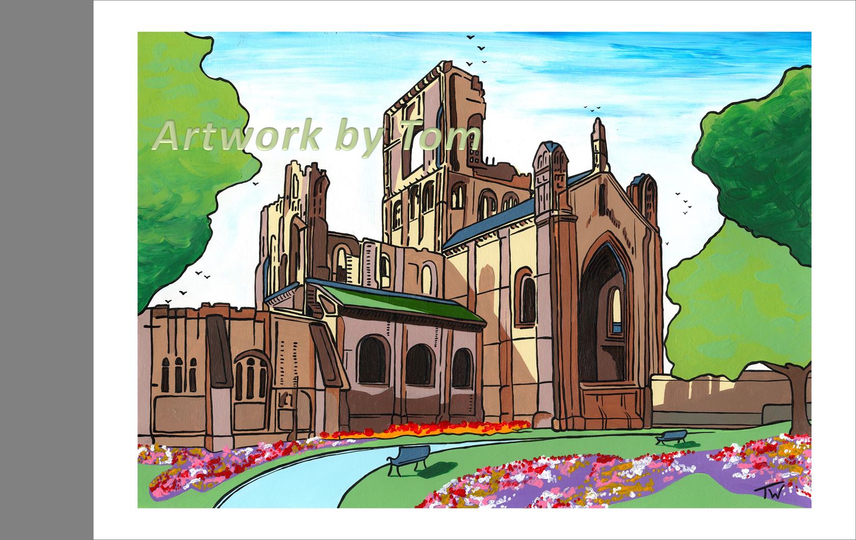 Kirkstall Abbey WM