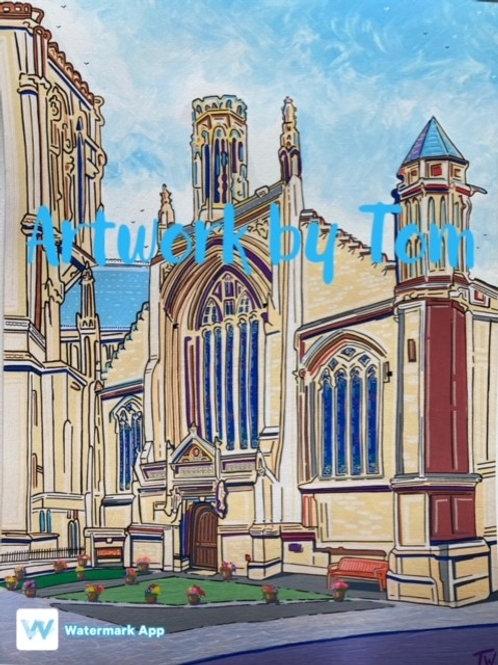 "The Belfrey, York (16""x 12"")"