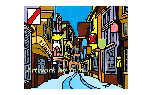 "York Shambles in Colour (16""x12"")"