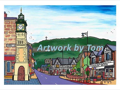 "Otley in Colour (20""x16"")"