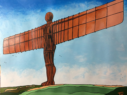 "Angel of the North  (20""x16"")"