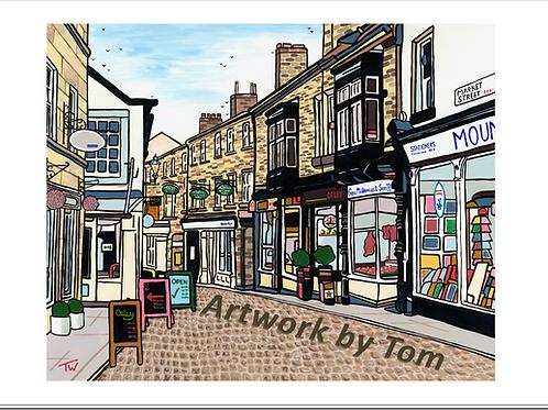 """Market Street, Otley (20""""x16"""")"""