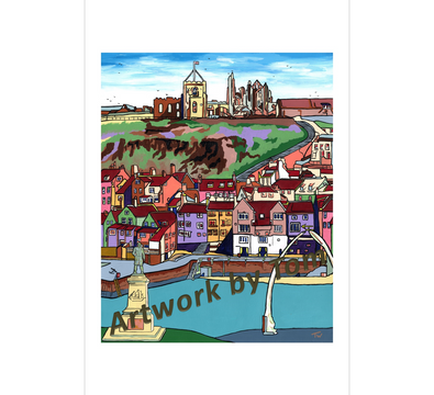 Whitby in Summer