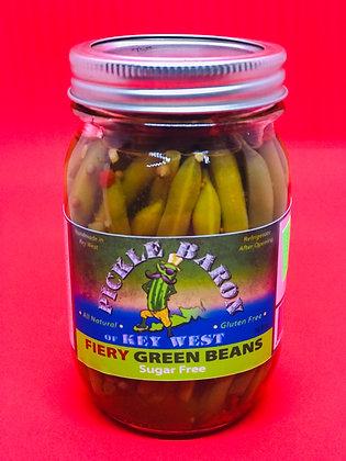 Fiery Green Beans