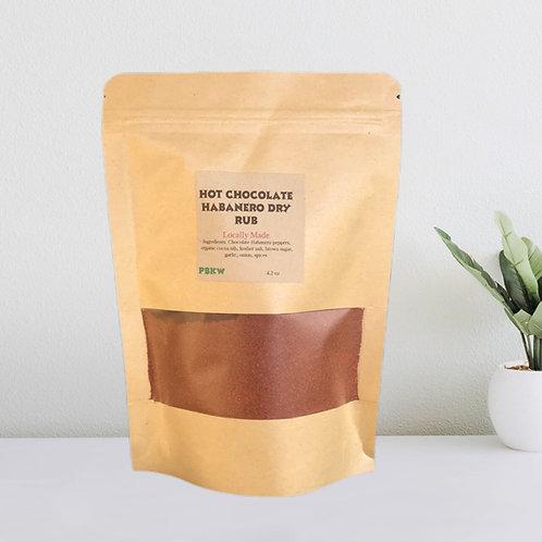 Chocolate Habanero Dry Rub