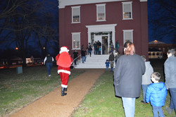 Santa at the Courthouse