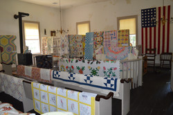 Quilt Show in Courthouse