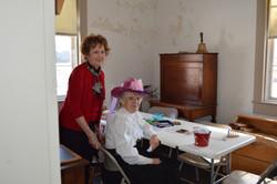 Sue Schaffenacker, Joyce Maxheimer