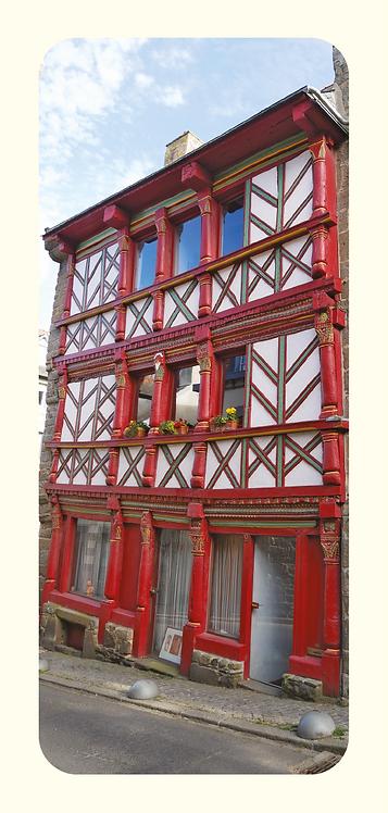 Maison rouge Saint-Brieuc