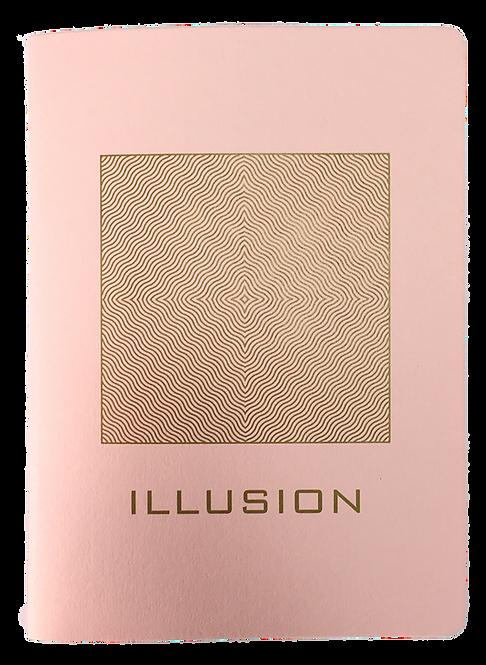 Cahier illusion rose
