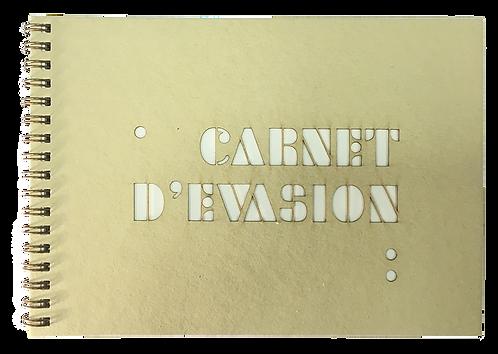 Carnet beige découpe laser