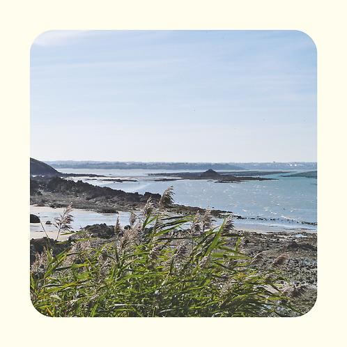 Baie de St-Brieuc vue de la Pointe du Roselier 2