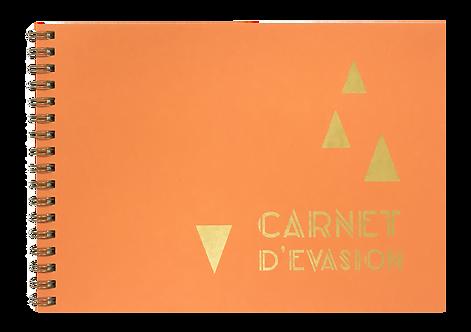 Carnet évasion orangé
