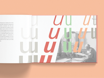 Visualizing the legacy of Swiss typographer  Frutiger and his works in the wild