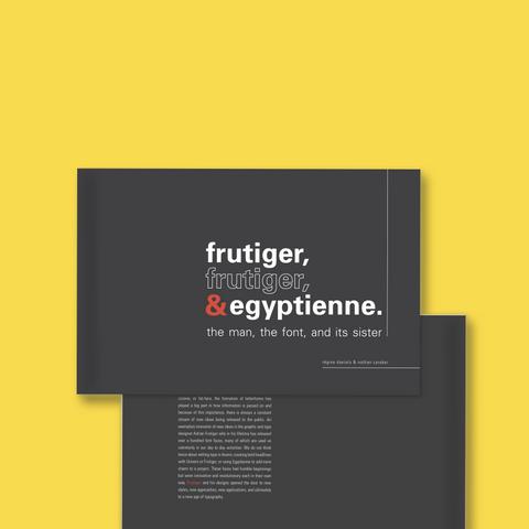 Frutiger Type Specimen Book