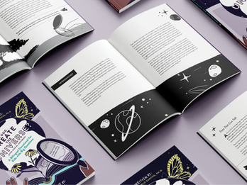 Exploring the creative union of science and faith with interactive illustration
