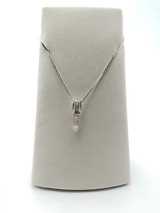 14KW Diamond Knot Pendant