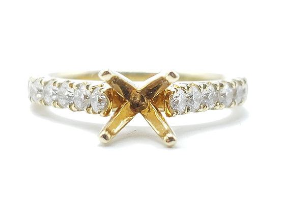 14K Yellow Gold Remount Ring