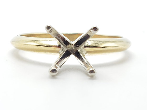 14KY Solitaire Engagement Ring Mounting