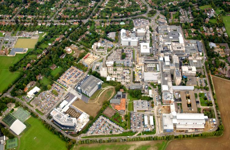 Addenbrookes Hospital, Cambridge