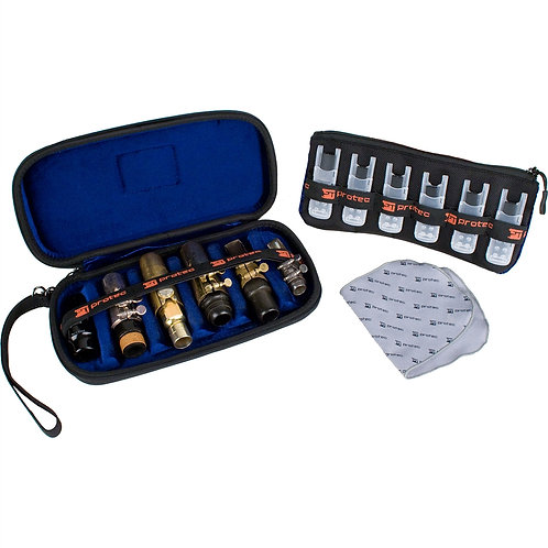 6-Piece Woodwind Mouthpiece Case