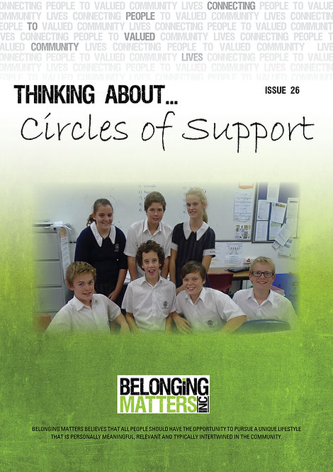 Periodical 26 - Circles of Support