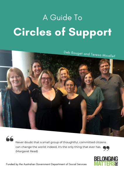 Circles of Support Guide & Workbook Physical Edition